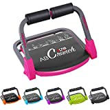 XN8 Bauchmuskeltrainer Abs Core| Fitness Coach Intelligente Maschine- Bauchtraining Geräte- Einstellbarer -Sit-Ups-Fitness-Traininshocker (Rosa)