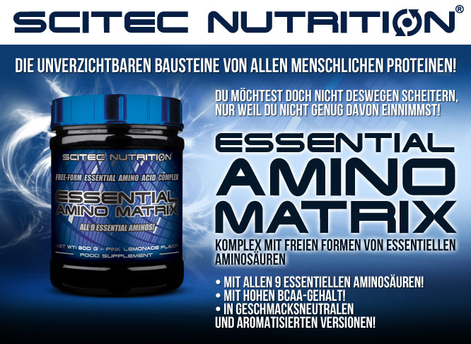 Photo of Scitec Nutrition Essential Amino Matrix
