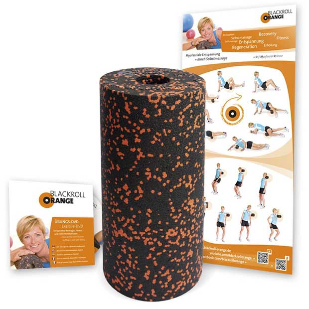 Photo of Blackroll Orange die Fitness Rolle
