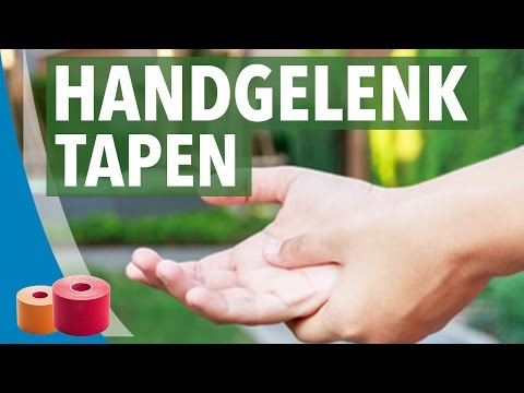 Photo of Handgelenk tapen – Kinesio Anleitung mit Video