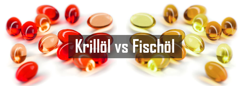 Krill Öl vs. Fish Oil