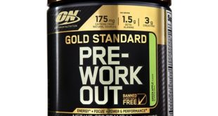 ON Gold Standard Pre-Workout Test