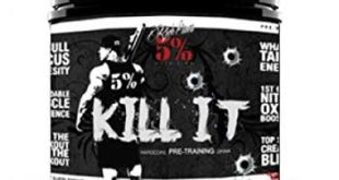Rich Piana 5% Nutrition KILL IT Pre Workout Booster