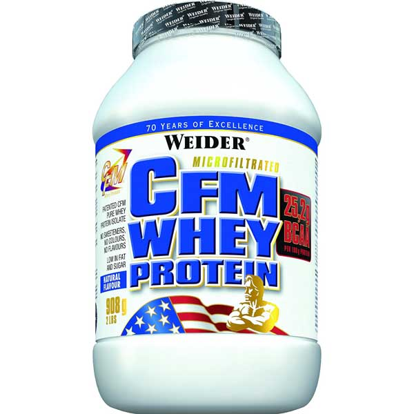 Photo of Weider CFM Whey Protein Test