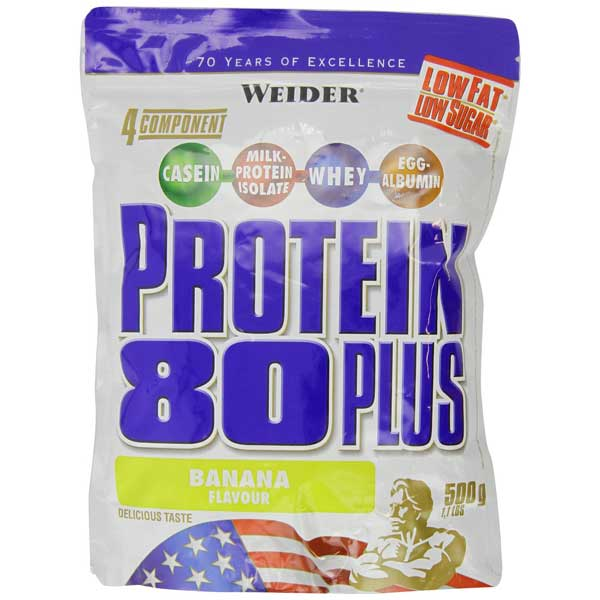 Weider Protein 80 Plus Test