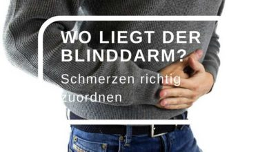 Photo of Wo liegt der Blinddarm?